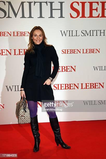 Caroline Beil at the Premiere of Seven Pounds in Cinestar at Potsdamer Platz in Berlin on 060109