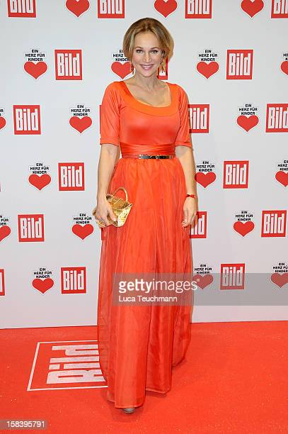 Caroline Beil attends 'Ein Herz Fuer Kinder Gala 2012' Red Carpet Arrivals at Axel Springer Haus on December 15 2012 in Berlin Germany