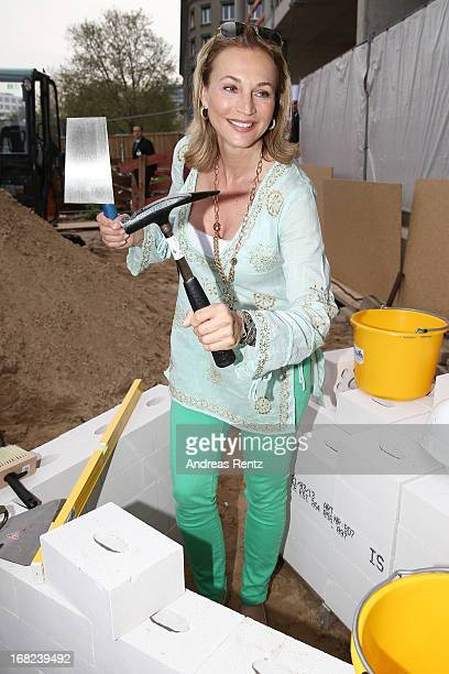 Caroline Beil attends roofing ceremony at BMW new Berlin location at BMW Niederlassung Berlin on May 7 2013 in Berlin Germany