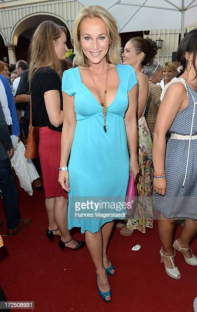 Caroline Beil attends the Bavaria Reception during the Munich Film Festival 2013 at Kuenstlerhaus am Lenbachplatz on July 2 2013 in Munich Germany