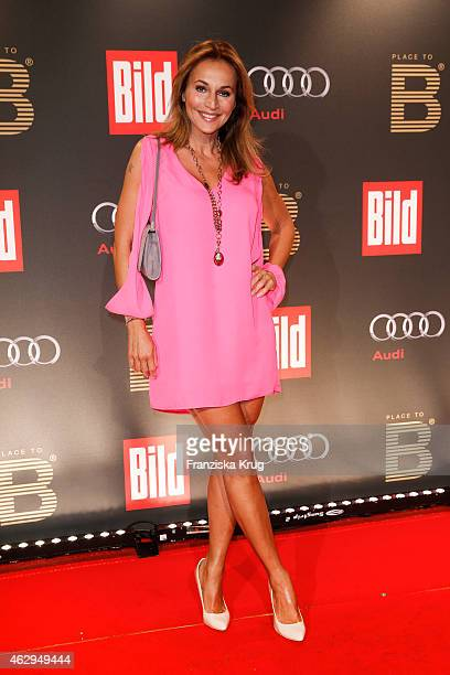 Caroline Beil attends the Bild 'Place to B' Party on February 07 2015 in Berlin Germany