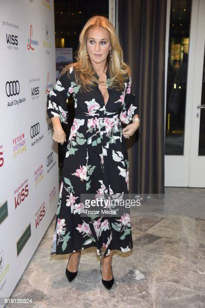 Caroline Beil attends the Green Carpet Lounge hosted by the Ustinov Foundation on February 16 2018 in Berlin Germany