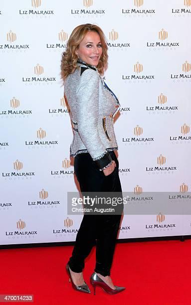 Caroline Beil attends the Liz Malraux Fashion Show at Hotel Atlantic on February 17 2014 in Hamburg Germany