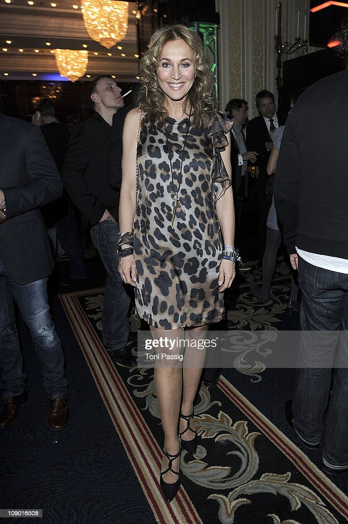 Caroline Beil attends the Movie meets Media Party at Ritz Carlton on February 11, 2011 in Berlin, Germany.