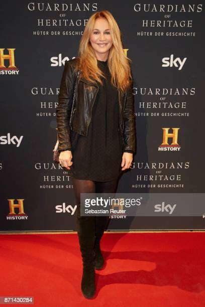 Caroline Beil attends the preview screening of the new documentary 'Guardians of Heritage Hueter der Geschichte' by German TV channel HISTORY at Bode...
