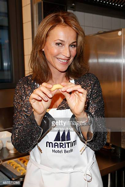 Caroline Beil attends the 'Wanawake Weinachtsbaeckerei' at Maritim Hotel on November 27 2013 in Berlin Germany