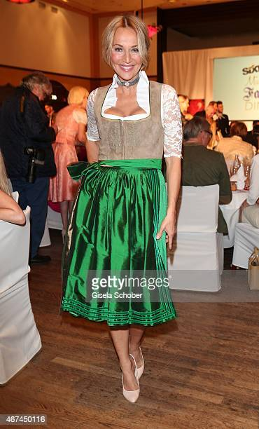 Caroline Beil during the SIXT fashion dinner at Nockherberg on March 24 2015 in Munich Germany