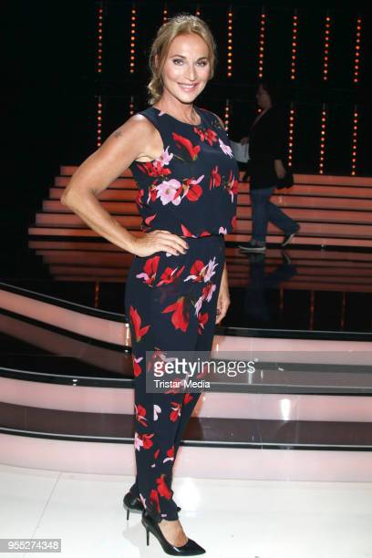 Caroline Beil during the tv show 'Willkommen bei Carmen Nebel' at SachsenArena on May 5 2018 in Riesa Germany