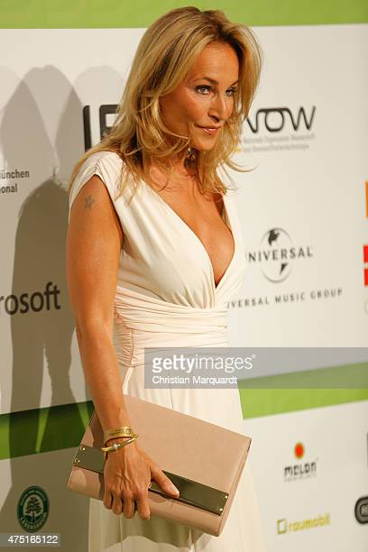 Caroline Beil wearing a dress by Minx by Eva Lutz attends the GreenTec Awards 2015 at Tempodrom on May 29 2015 in Berlin Germany