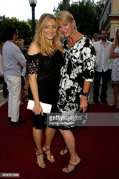Caroline Berthet and Marcy Warren attend The Screening of IN THE SHADOW OF THE MOON at UA Southampton Cinema on July 1 2007 in Southampton NY