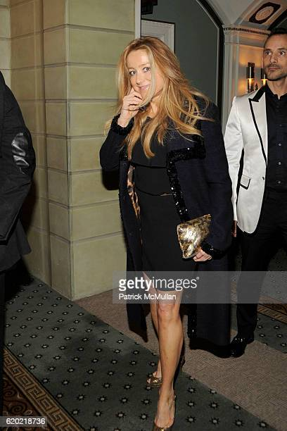 Caroline Berthet attends 25TH ANNUAL WOMEN IN NEED GALA DINNER at The Pierre Hotel on April 9 2008 in New York City