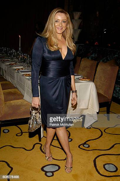 Caroline Berthet attends JIMMY CHOO Dinner for The Whitney Contemporaries at ART BASEL at David Bouley Evolution on December 6 2006 in Miami Beach FL