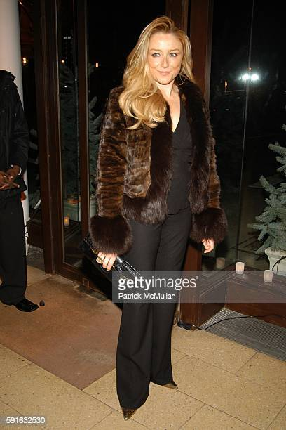 Caroline Berthet attends Tse Holiday Cocktails to benefit the Lenox Hill Neighborhood House at Tse on December 6 2005 in New York City