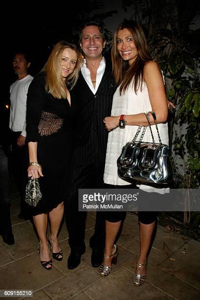 Caroline Berthet Carlos Souza and Zeta Graff attend Nicolas Berggruen Dinner at Chateau Marmont on February 21 2007 in Hollywood CA
