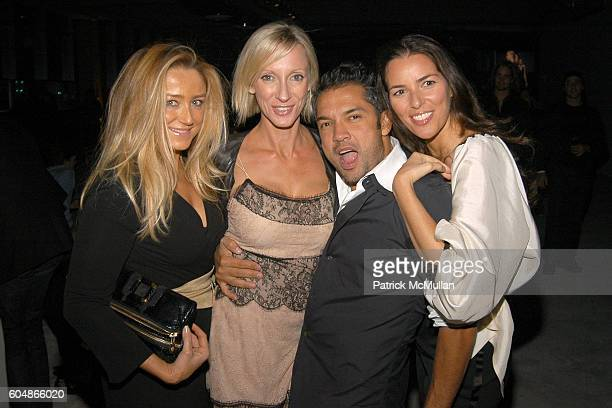 Caroline Berthet Jackie Astier Carlos Mota and Ann Caruso attend CALVIN KLEIN COLLECTION Spring 2007 AFTERPARTY in honor of Francisco Costa at 7...