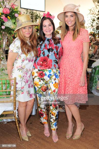 Caroline Berthet Judith Giuliani and Kristen Krusen attend 36th Annual Frederick Law Olmsted Awards Luncheon Central Park Conservancy at The...