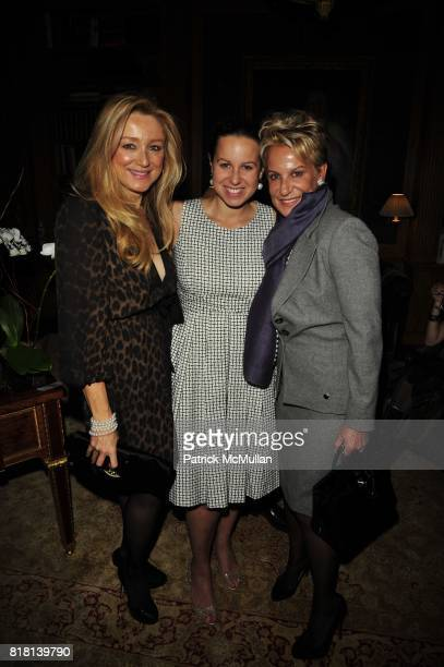Caroline Berthet Samantha Rudin and Orphelia Ridin attend TISCH School of the Arts 2010 PreGala cocktails at Private Residence NYC on November 15...