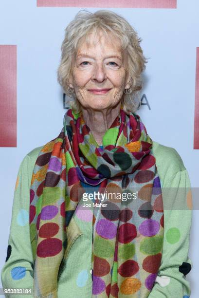 Caroline Blakiston attends the Poldark Series 4 premiere at BFI Southbank on May 2 2018 in London England