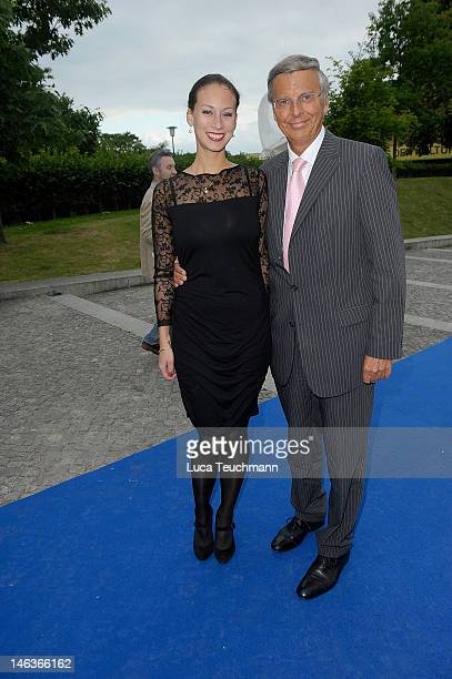 Caroline Bosbach and Wolfgang Bosbach attend the producer party 2012 of the German producers alliance on June 14 2012 in Berlin Germany