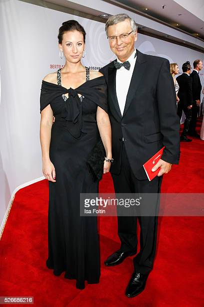 Caroline Bosbach and Wolfgang Bosbach attend the Rosenball 2016 on April 30 2016 in Berlin Germany