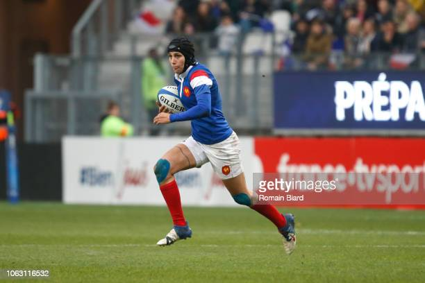 Caroline Boujard of France during the Test match between France and New Zealand on November 17 2018 in Grenoble France