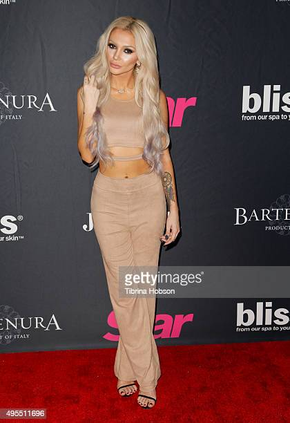 Caroline Burt attends Star Magazine's Scene Stealers party at W Hollywood on October 22 2015 in Hollywood California