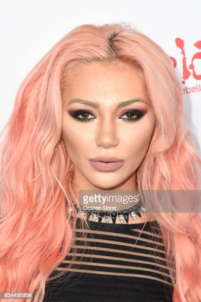 Caroline Burt attends the OK Magazine PreGRAMMY Event at Avalon Hollywood on February 9 2017 in Los Angeles California