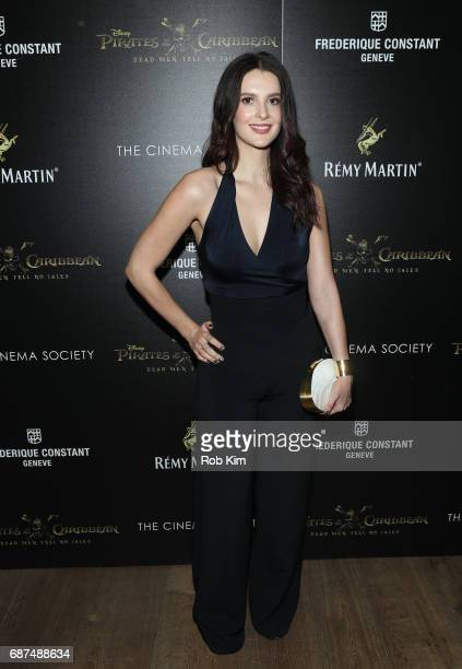 Caroline Byron attends the screening for 'Pirates of The Caribbean Dead Men Tell No Tales' presented by Remy Martin at the Crosby Street Hotel on May...