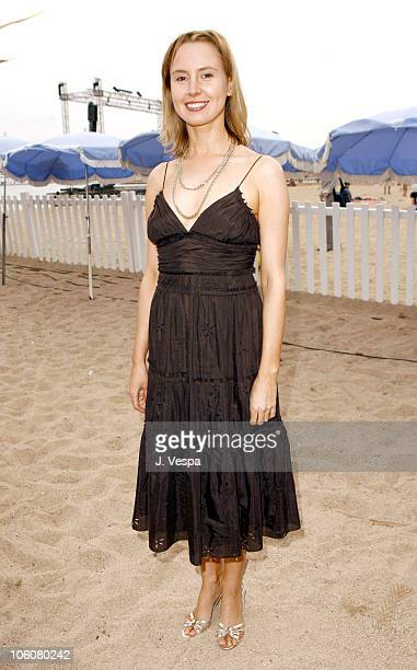 Caroline Carver during 2006 Cannes Film Festival My First Wedding Cocktail Party at Le Plage Goeland in Cannes France