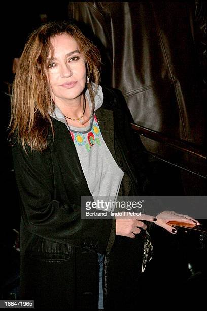 Caroline Cellier at The Paris Premiere Of The Film Le Dernier Gang At L' Ugc Normandie