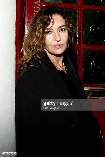Caroline Cellier attends the Royal Christmas party at Castel in Paris