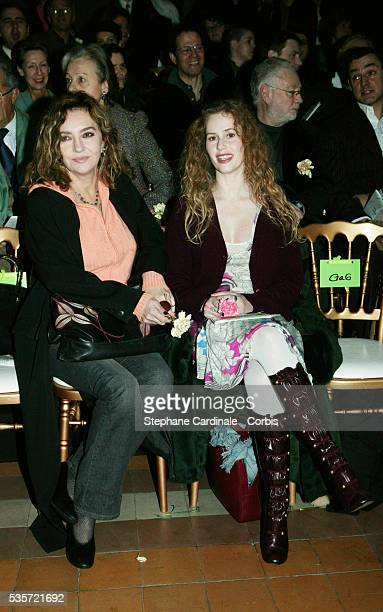 Caroline Cellier et Florence Darel