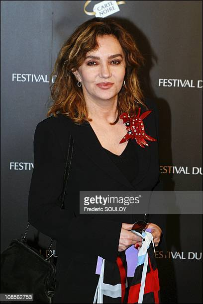 Caroline Cellier in Paris France on March 29th 2004