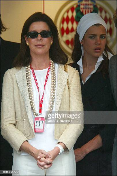 Caroline Charlotte in Monaco on June 01 2003