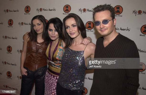 Caroline Corr Andrea Corr Sharon Corr and Jim Corr of The Corrs