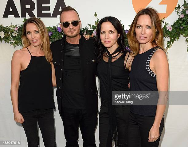 Caroline Corr Jim Corr Andrea Corr and Sharon Corr of The Corrs performs at the BBC Radio 2 Live In Hyde Park Concert at Hyde Park on September 13...