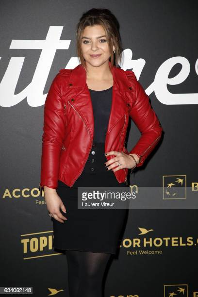 Caroline Costa attends the '4th Melty Future Awards' at Le Grand Rex on February 6 2017 in Paris France
