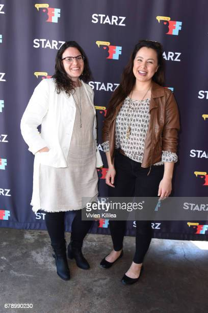 Caroline Cox and Tiffany Ayalik attend the 3rd Annual Bentonville Film Festival on May 4 2017 in Bentonville Arkansas