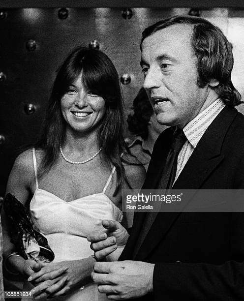 Caroline Cushing and David Frost during New York Magazine 4th of July Party at World Trade Center in New York City New York United States