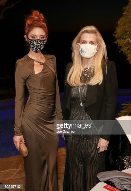 """Caroline D'Amore and Nancy Davis attend a private event with the cast of MTV's """"The Hills"""" hosted by Cure Addiction Now & The Red Songbird Foundation..."""