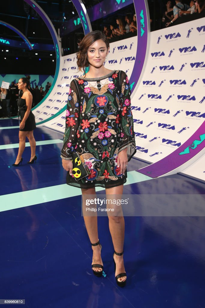 Caroline D'Amore attends the 2017 MTV Video Music Awards at The Forum on August 27, 2017 in Inglewood, California.
