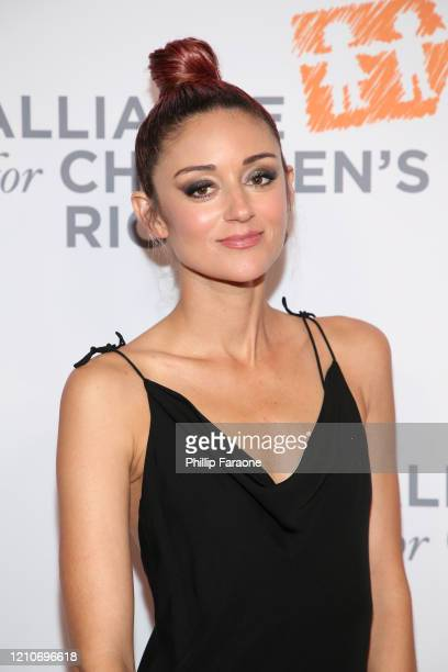 Caroline D'Amore attends The Alliance For Children's Rights 28th Annual Dinner at The Beverly Hilton Hotel on March 05 2020 in Beverly Hills...