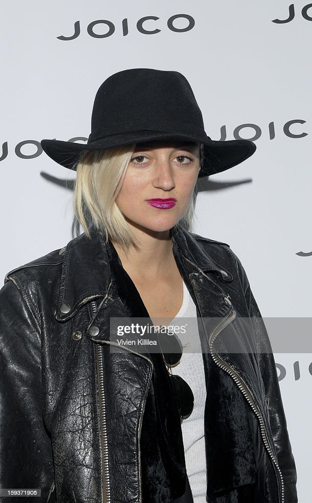 Caroline D'Amore attends Turning Heads With Joico Hair Care At Colgate's Pre Golden Globe Beauty Bar on January 12, 2013 in West Hollywood, California.
