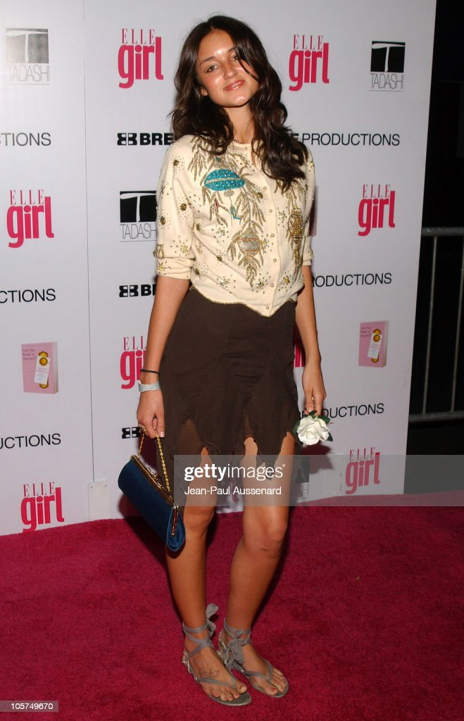 Caroline D'Amore during ELLEGIRL's 1st Annual Hollywood Prom - Arrivals at Hollywood Athletic Club in Hollywood, California, United States.
