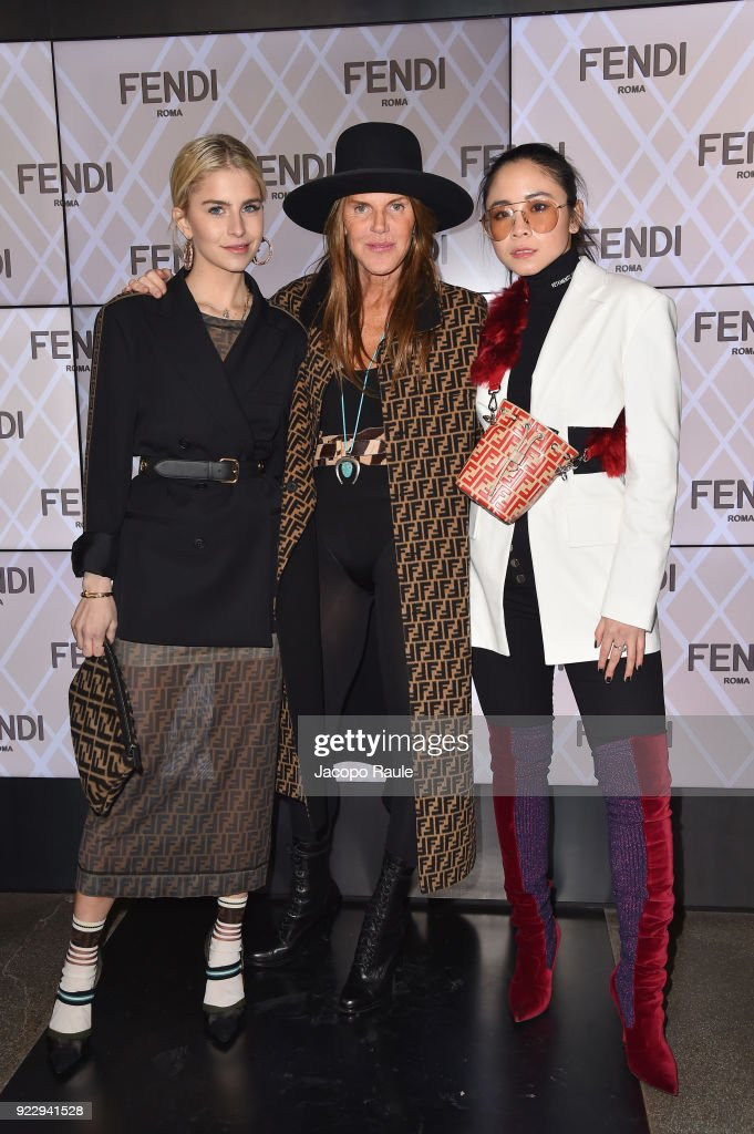 Fendi - Front Row - Milan Fashion Week Fall/Winter 2018/19