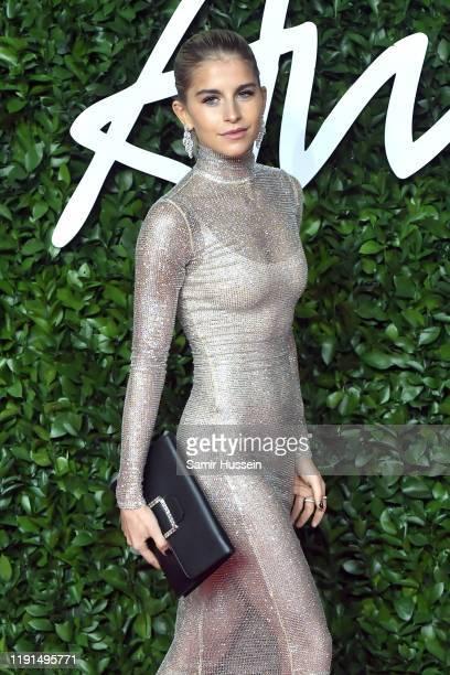 Caroline Daur arrives at The Fashion Awards 2019 held at Royal Albert Hall on December 02, 2019 in London, England.