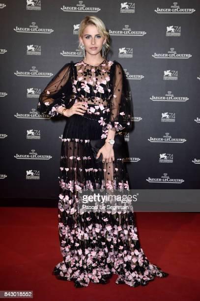 Caroline Daur arrives for the JaegerLeCoultre Gala Dinner during the 74th Venice International Film Festival at Arsenale on September 5 2017 in...