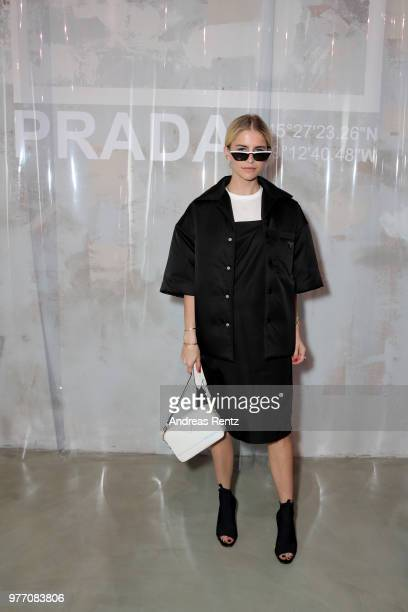 Caroline Daur attends Prada Men's Spring/Summer 2019 Fashion Show on June 17 2018 in Milan Italy
