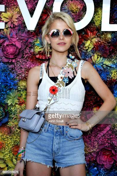 Caroline Daur attends #REVOLVEfestival at Coachella with Moet Chandon on April 15 2017 in La Quinta CA Merv Griffin Estate