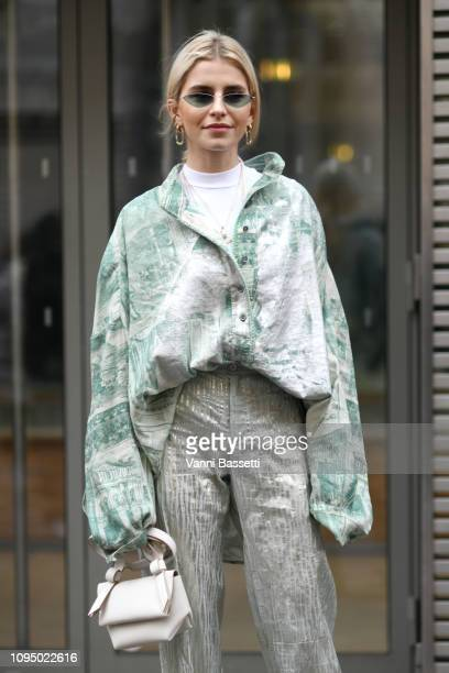 Caroline Daur attends the Acne Studio Menswear Fall/Winter 20192020 show as part of Paris Fashion Week on January 16 2019 in Paris France